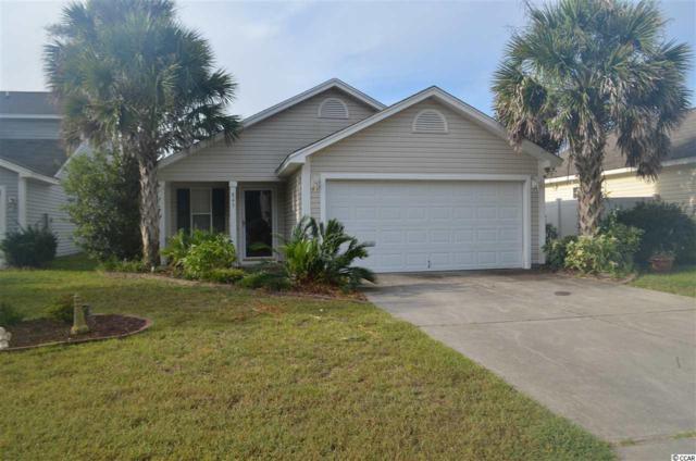 845 Silvercrest Dr., Myrtle Beach, SC 29579 (MLS #1818618) :: Right Find Homes
