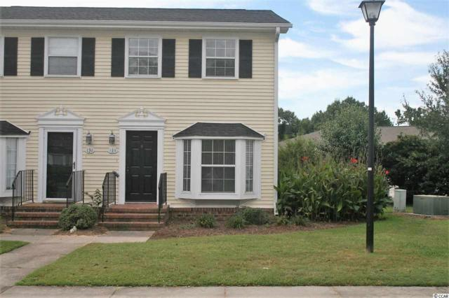 132 Carriage Row Lane #132, Myrtle Beach, SC 29577 (MLS #1818627) :: James W. Smith Real Estate Co.