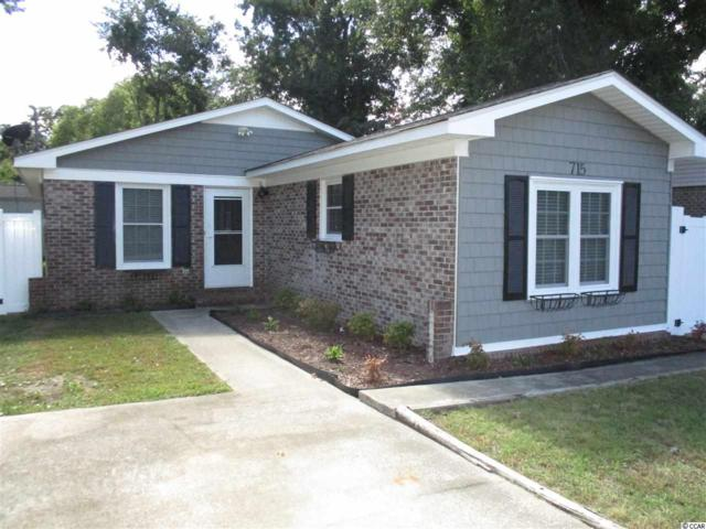 715 Cypress Drive, Surfside Beach, SC 29575 (MLS #1819242) :: The Greg Sisson Team with RE/MAX First Choice
