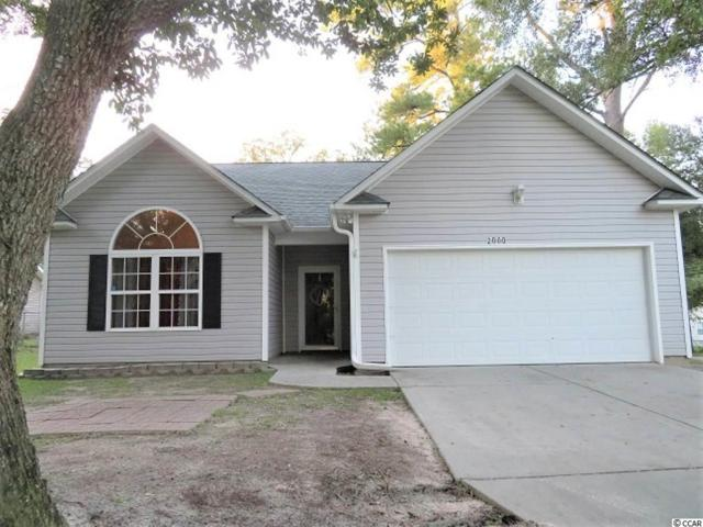 2000 Woodward Drive, Conway, SC 29527 (MLS #1819343) :: Sloan Realty Group