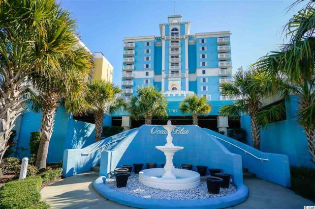 2709 S Ocean Blvd #203, Myrtle Beach, SC 29577 (MLS #1819680) :: Silver Coast Realty