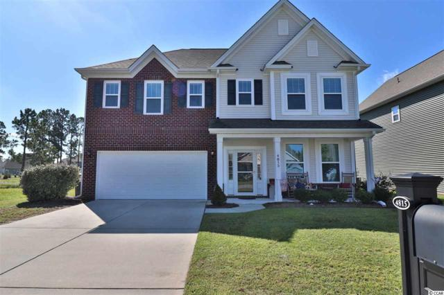 4815 Bramblewood Dr., Myrtle Beach, SC 29579 (MLS #1819738) :: Right Find Homes