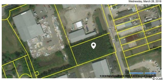 Lot W Cannon Rd., Myrtle Beach, SC 29577 (MLS #1821079) :: The Greg Sisson Team with RE/MAX First Choice