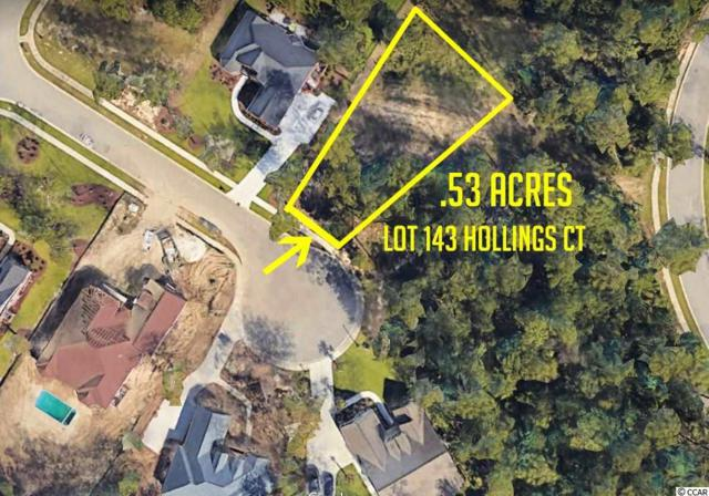 Lot 143 Hollings Ct., Myrtle Beach, SC 29588 (MLS #1821988) :: Matt Harper Team