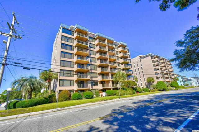 7601 N Ocean Blvd. 5-C, Myrtle Beach, SC 29572 (MLS #1822023) :: The Hoffman Group