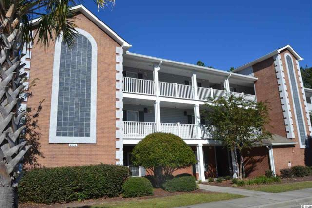4838 Innisbrook Ct. #1202, Myrtle Beach, SC 29579 (MLS #1822384) :: James W. Smith Real Estate Co.
