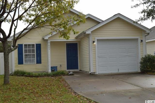 865 Silver Crest Dr., Myrtle Beach, SC 29579 (MLS #1822646) :: The Litchfield Company