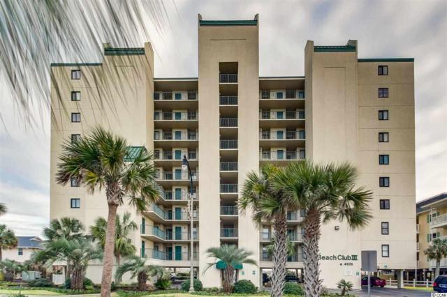 4505 S Ocean Blvd. 6-B, North Myrtle Beach, SC 29582 (MLS #1824225) :: James W. Smith Real Estate Co.