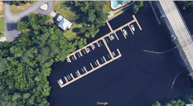 Slip A-15 Harbor Oaks Marina, Myrtle Beach, SC 29588 (MLS #1824585) :: The Hoffman Group