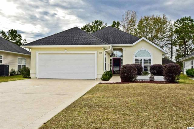 112 Keyes Circle, Murrells Inlet, SC 29576 (MLS #1824605) :: Trading Spaces Realty