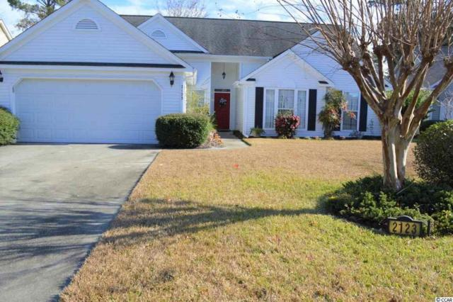 2123 Green Heron Dr., Murrells Inlet, SC 29576 (MLS #1900199) :: James W. Smith Real Estate Co.