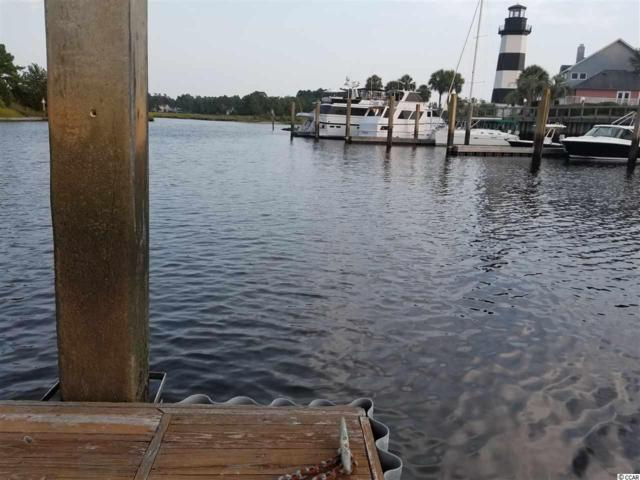 Slip 0-12 Lightkeepers Marina, Little River, SC 29566 (MLS #1901334) :: Myrtle Beach Rental Connections
