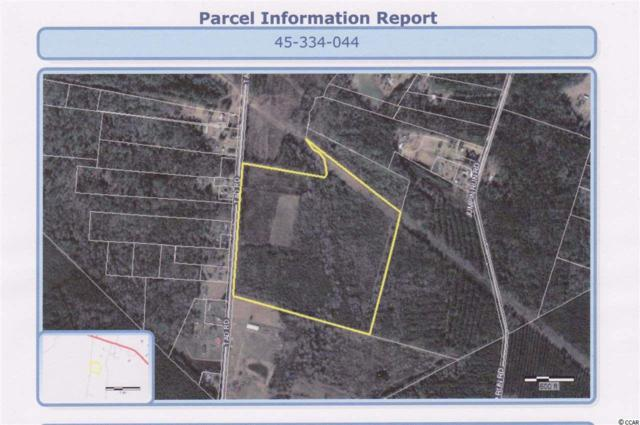 50 ac Tad Rd., Andrews, SC 29510 (MLS #1901617) :: The Lachicotte Company