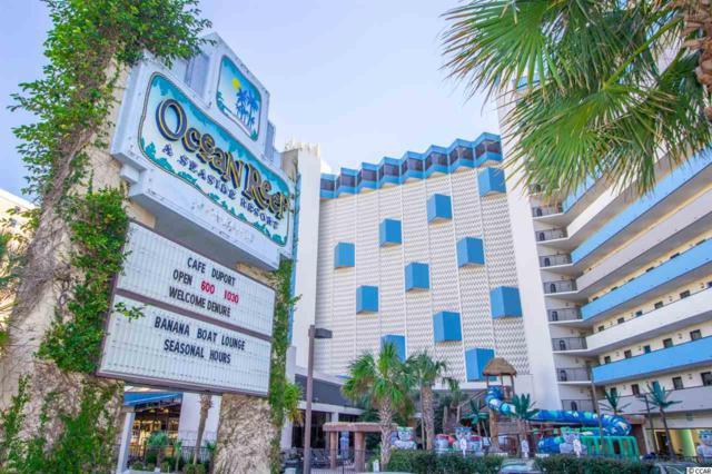7100 N Ocean Blvd. #413, Myrtle Beach, SC 29572 (MLS #1901622) :: Myrtle Beach Rental Connections