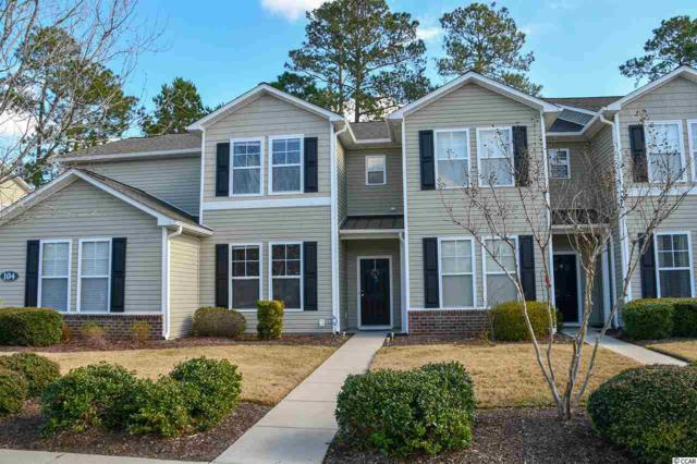 104 Olde Towne Way #2, Myrtle Beach, SC 29588 (MLS #1901899) :: James W. Smith Real Estate Co.