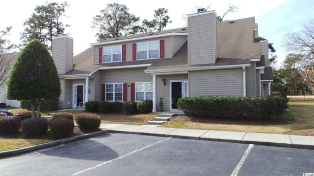 503 20th Ave. N 41D, North Myrtle Beach, SC 29582 (MLS #1902452) :: The Litchfield Company