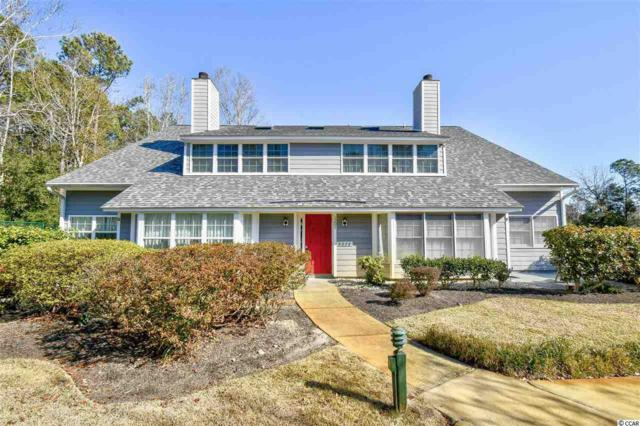 1202 Tiffany Ln. H, Myrtle Beach, SC 29588 (MLS #1902565) :: James W. Smith Real Estate Co.