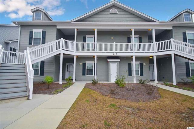 249 Moonglow Circle #101, Murrells Inlet, SC 29576 (MLS #1902871) :: The Greg Sisson Team with RE/MAX First Choice