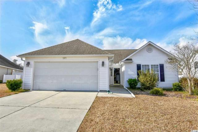 197 Cold Water Circle, Myrtle Beach, SC 29588 (MLS #1903101) :: The Hoffman Group