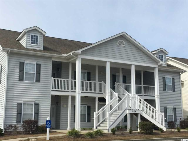 806 Sail Ln. #201, Murrells Inlet, SC 29576 (MLS #1903755) :: Garden City Realty, Inc.