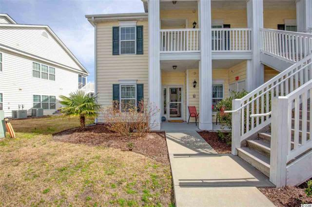 4926 Pond Shoals Ct. #101, Myrtle Beach, SC 29579 (MLS #1903761) :: The Greg Sisson Team with RE/MAX First Choice