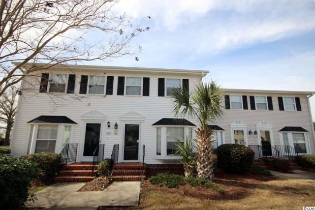 2925 Carriage Row Ln. #122, Myrtle Beach, SC 29577 (MLS #1903826) :: The Hoffman Group