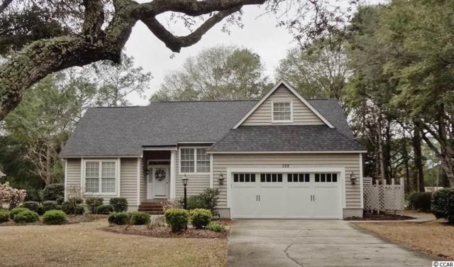 332 Heather Dr., Sunset Beach, NC 28468 (MLS #1904745) :: The Hoffman Group