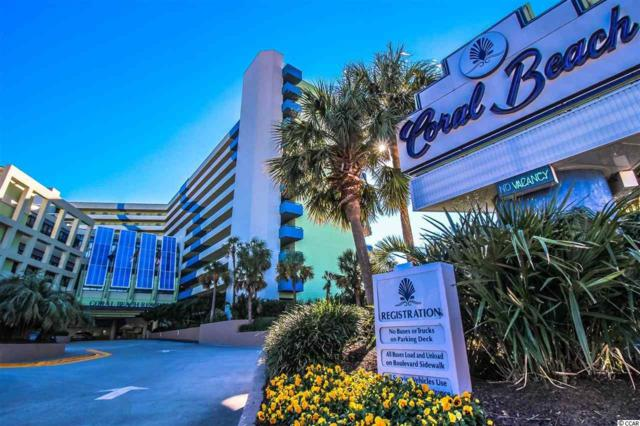 1105 S Ocean Blvd. #706, Myrtle Beach, SC 29577 (MLS #1904961) :: James W. Smith Real Estate Co.