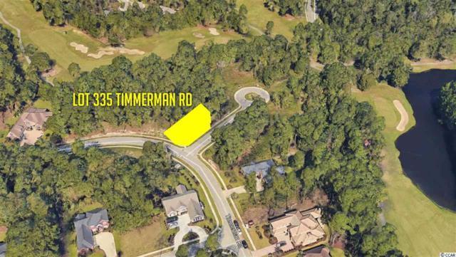 Lot 335 Timmerman Rd., Myrtle Beach, SC 29588 (MLS #1905079) :: Matt Harper Team