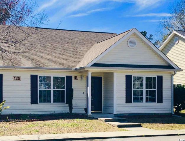 125 Country Manor Dr. B, Conway, SC 29527 (MLS #1905831) :: The Litchfield Company