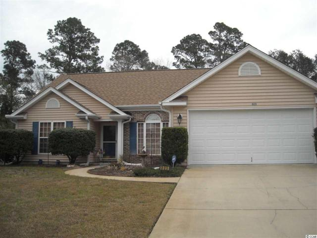 323 Milledge Dr., Conway, SC 29526 (MLS #1905838) :: The Hoffman Group