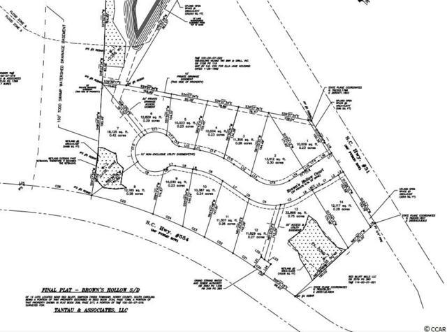 125 Brown's Hollow Court, Loris, SC 29569 (MLS #1906759) :: The Hoffman Group