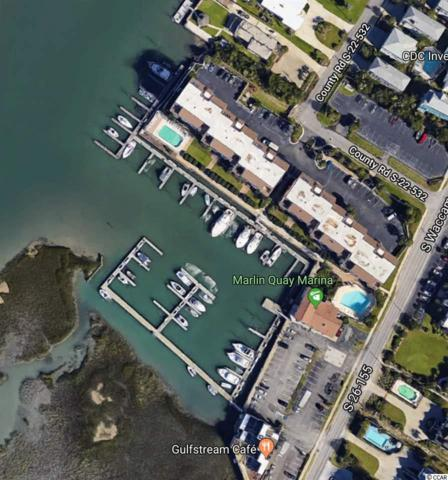 Slip 7 Marlin Quay Marina, Garden City Beach, SC 29576 (MLS #1906840) :: The Litchfield Company