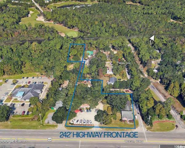 TBD Ocean Highway, Pawleys Island, SC 29585 (MLS #1907102) :: James W. Smith Real Estate Co.