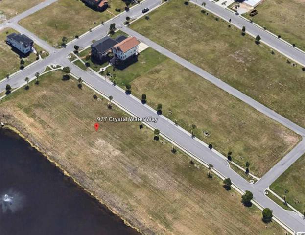 977 Crystal Water Way, Myrtle Beach, SC 29579 (MLS #1907283) :: The Hoffman Group