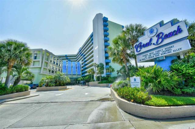 1105 S Ocean Blvd. #504, Myrtle Beach, SC 29577 (MLS #1907322) :: The Hoffman Group
