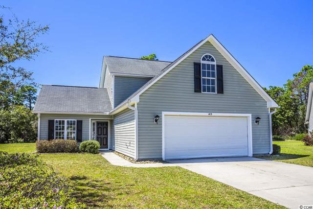 413 Garron Ct., Myrtle Beach, SC 29579 (MLS #1907715) :: The Litchfield Company