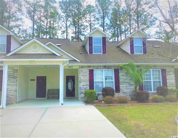 502 Colonial Trace Dr. 9C, Longs, SC 29568 (MLS #1907939) :: The Hoffman Group