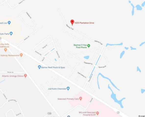 1025 Plantation Dr., Little River, SC 29566 (MLS #1908818) :: Jerry Pinkas Real Estate Experts, Inc
