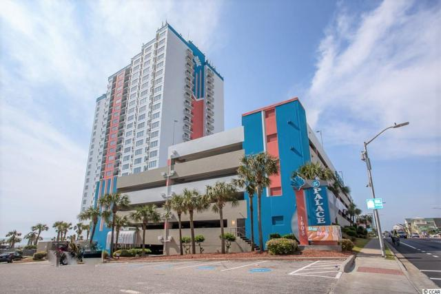 1605 S Ocean Blvd. #1706, Myrtle Beach, SC 29577 (MLS #1909427) :: The Litchfield Company