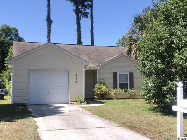 634 Oakhurst Dr., Myrtle Beach, SC 29579 (MLS #1910945) :: Right Find Homes