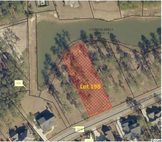 Lot 198 Sprig Ln., Murrells Inlet, SC 29576 (MLS #1911053) :: The Trembley Group   Keller Williams