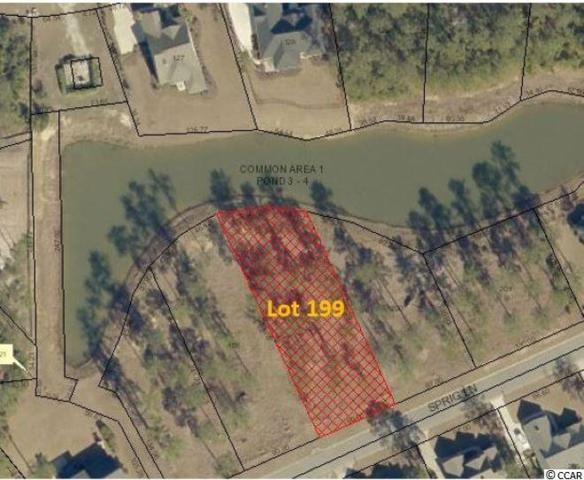 Lot 199 Sprig Ln., Murrells Inlet, SC 29576 (MLS #1911054) :: The Hoffman Group