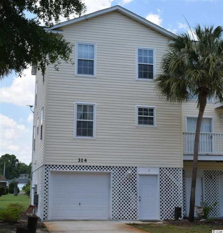 314 Willow Dr. S #1, Surfside Beach, SC 29575 (MLS #1911085) :: Right Find Homes