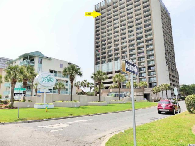 5523 N Ocean Blvd. #2212, Myrtle Beach, SC 29577 (MLS #1912611) :: Hawkeye Realty