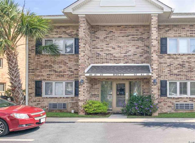 212 Double Eagle Dr. H-1, Surfside Beach, SC 29575 (MLS #1914607) :: Jerry Pinkas Real Estate Experts, Inc