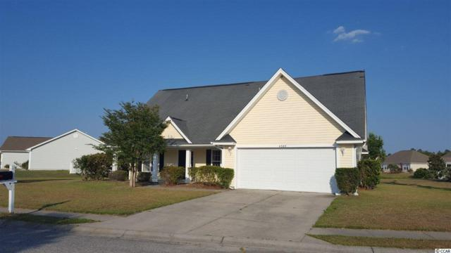 4383 Heartwood Ln., Myrtle Beach, SC 29579 (MLS #1914690) :: The Litchfield Company