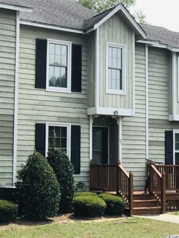 4840 Moss Creek Loop #43, Murrells Inlet, SC 29576 (MLS #1914943) :: Jerry Pinkas Real Estate Experts, Inc