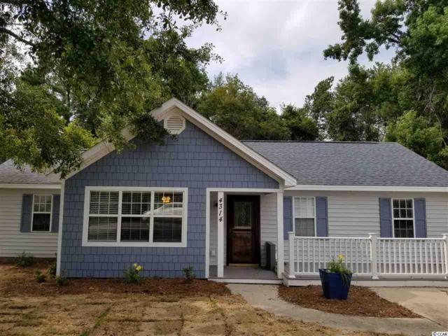 4314 Bradford Circle, Myrtle Beach, SC 29588 (MLS #1915590) :: The Litchfield Company