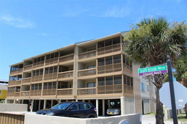 2700 Ocean Blvd. S A-3, North Myrtle Beach, SC 29582 (MLS #1916668) :: The Litchfield Company